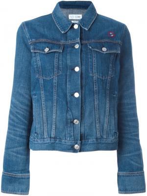 Embroidered denim jacket Rag & Bone /Jean. Цвет: синий