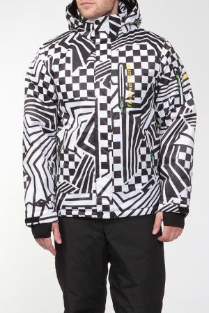 Сноубордическая куртка ACCESS Five seasons. Цвет: серый принт