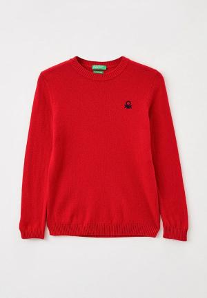 Джемпер United Colors of Benetton. Цвет: красный