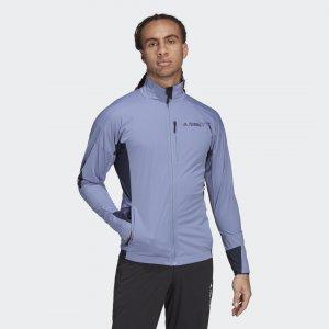 Куртка для лыжного спорта Terrex Xperior Soft Shell adidas. Цвет: синий