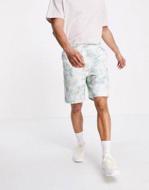 Пестрые шорты с мраморным принтом -Многоцветный Carhartt WIP