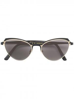 Солнцезащитные очки Monarch в оправе кошачий глаз L.G.R. Цвет: черный