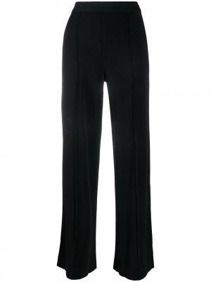 Широкие брюки с защипами By Malene Birger. Цвет: черный