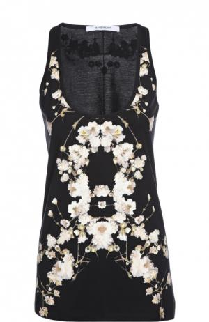 Майка Givenchy. Цвет: черный