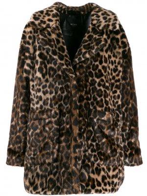 Пальто с леопардовым узором Twin-Set