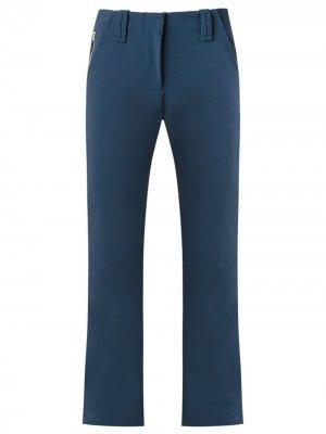 Прямые брюки Gloria Coelho. Цвет: синий