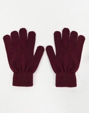 Перчатки из переработанных материалов -Красный Boardmans