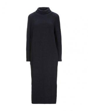 Платье длиной 3/4 MAMA B.. Цвет: темно-синий