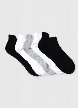Короткие фитнес-носки O`Stin. Цвет: черный