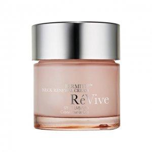 Обновляющий кожу крем-лифтинг для области шеи и декольте ReVive. Цвет: бесцветный