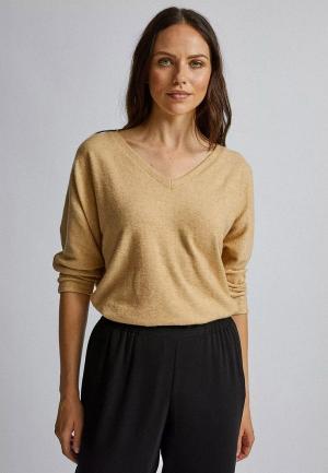 Пуловер Dorothy Perkins. Цвет: бежевый