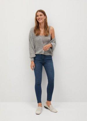 Укороченные джинсы-скинни Isa - Mango. Цвет: насыщенный темно-синий