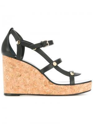 Nerissa platform sandals Jimmy Choo. Цвет: черный