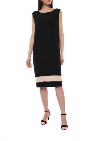 Платье Elena Miro. Цвет: черный, бежевый