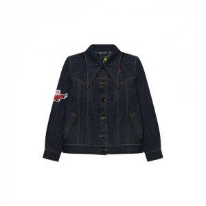 Джинсовая куртка Natasha Zinko. Цвет: синий