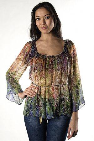 Блуза Analili. Цвет: мультицвет
