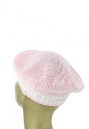 Берет GCDS. Цвет: розовый