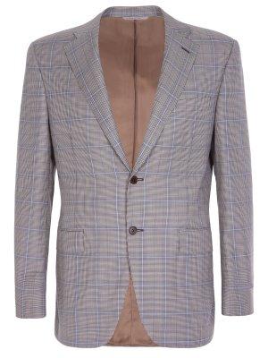 Пиджак клетчатый CANALI
