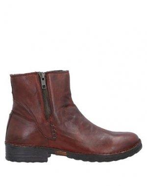 Полусапоги и высокие ботинки KHRIO'. Цвет: какао