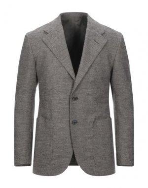 Пиджак CAMOSHITA by UNITED ARROWS. Цвет: голубиный серый