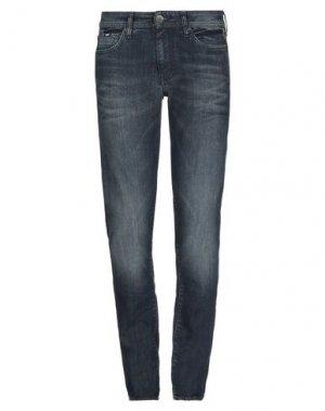 Джинсовые брюки GAS. Цвет: синий