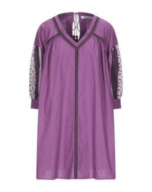 Короткое платье EMMA & GAIA. Цвет: розовато-лиловый