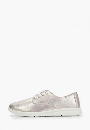 Ботинки Alessio Nesca. Цвет: серебряный