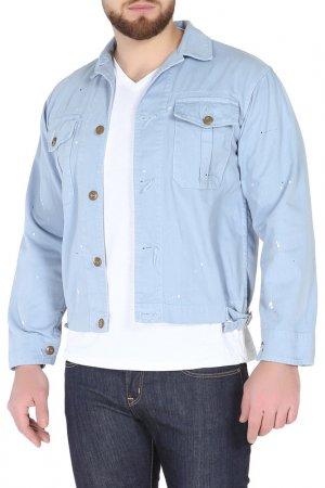 Куртка GARBSTORE. Цвет: голубой