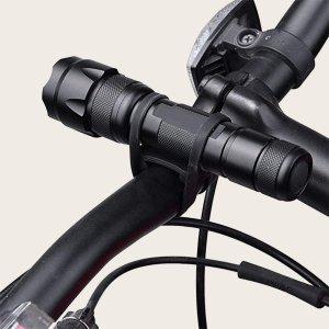 Велосипедный силиконовый ремешок SHEIN. Цвет: чёрный