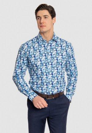 Рубашка Kanzler. Цвет: синий