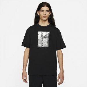 Мужская футболка для скейтбординга SB - Черный Nike