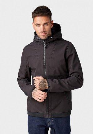 Куртка Tom Tailor Denim. Цвет: черный