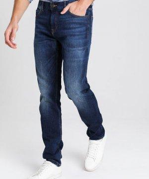 Комфортные зауженные джинсы O`Stin. Цвет: синий