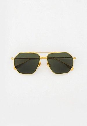 Очки солнцезащитные Baldinini BLD 2008 103 GOLD. Цвет: золотой