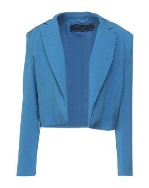 Пиджак PATRIZIA PEPE SERA. Цвет: лазурный