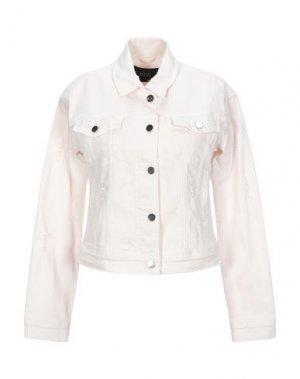 Джинсовая верхняя одежда SET. Цвет: светло-розовый