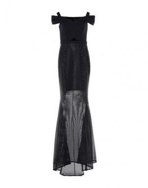Длинное платье LEXUS. Цвет: черный