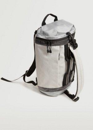 Многофункциональный комбинированный рюкзак - Bgwhite1 Mango. Цвет: белый