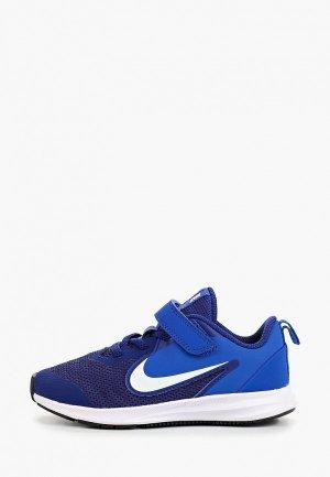 Кроссовки Nike DOWNSHIFTER 9 LITTLE KIDS SHOE. Цвет: синий