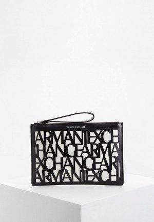 Клатч Armani Exchange. Цвет: белый