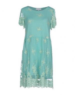 Короткое платье ANNA RACHELE JEANS COLLECTION. Цвет: светло-зеленый