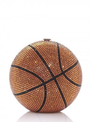 Basketball Ball sphere-shaped clutch Judith Leiber. Цвет: multicolour