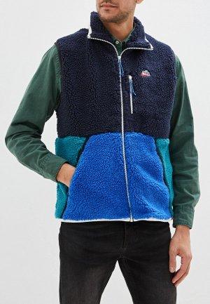 Жилет меховой Nike Sportswear Mens Vest. Цвет: разноцветный