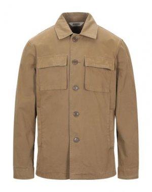 Куртка ASPESI. Цвет: хаки