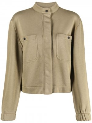 Укороченная куртка-рубашка Closed. Цвет: зеленый