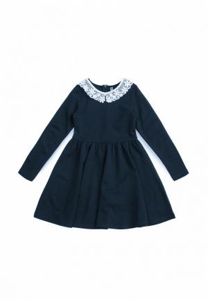 Платье SCool S'Cool. Цвет: синий