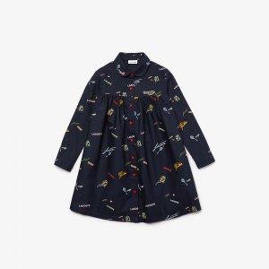 Платье Lacoste. Цвет: none