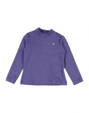 Футболка KRYTIK. Цвет: фиолетовый