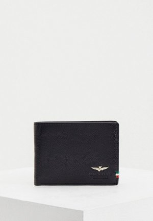 Кошелек Aeronautica Militare. Цвет: черный