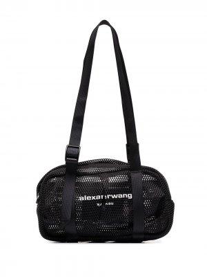 Маленькая дорожная сумка Wangsport Alexander Wang. Цвет: черный